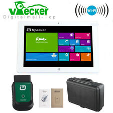 Win10 Tablet + Vpecker Easydiag Wifi Diagnostic Scanner Better Launch X431 iDiag