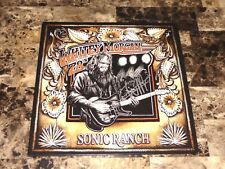 Whitey Morgan and the 78's Signed Vinyl LP Record Sonic Ranch Country Music COA