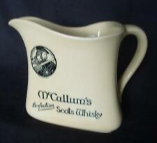 Large McCallum's Scotch Whisky water jug - Royal Doulton - Made in England