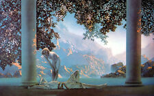 Daybreak  by Maxfield Parrish   Paper Print Repro