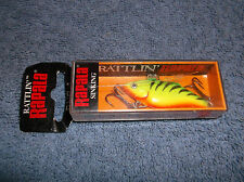 RAPALA RNR-4 FIRETIGER SINKING FISHING LURE - NEW IN PACKAGE