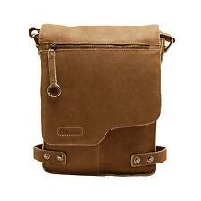 Ashwood - Antique Tan A4 Cow Vintage Leather Camden Messenger Bag