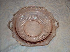 MAYFAIR '' OPEN ROSE'' 11 3/4''  BOWL 1931 /1937 PINK  NO CHIPS OR  CRACKS GREAT