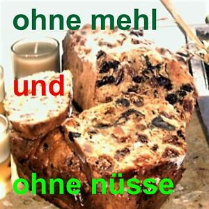 ● French Fruit Bread Old Family Recipe Handmade Without Flour + Nuts 2.2lbs
