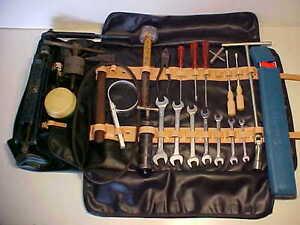 Ferrari 275 Tool Kit Jack Roll Bag Tools_Pliers_Wrenches_Lead Hammer GTS GTB