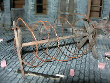 1/32 SCALE  BARBED WIRE COIL  2 meter LENGTH FOR MODEL SCENES & DIORAMAS