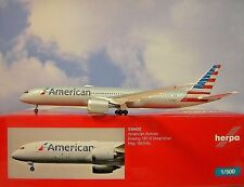 Herpa Wings 1:500 Boeing 787-9 American Airlines n820al 530422 modellairport 500