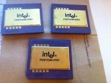 Raro Y Retro-Intel SY040 Pentium Pro 200 MHz KB80521EX200 - 1 sólo en la web