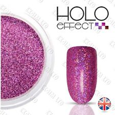 Purple LASER HOLO MERMAID EFFECT NAIL ART POWDER  Holographic < Lilac 18 >