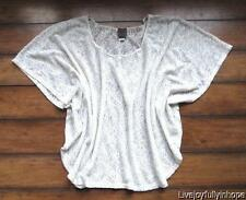 I.NER~ New! NWOT Size XL ~ BoHemian Hippie Lace Pullover Cover-Up Poncho Top
