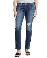 Silver Jeans Womens Jeans Blue Size 25 Straight Leg Curvy Stretch $89 454