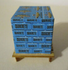 O scale pallet load of Quikrete sacks 1/48  BL