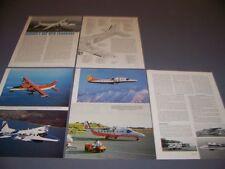 VINTAGE..Dornier 228-200 ..HISTORY/CUTAWAY/3-VIEWS/SPECS..RARE! (937H)