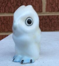 HEREND White OWL hand painted Figurine 5102