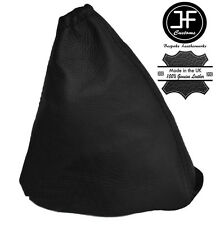 BLACK LEATHER GEAR STICK GAITER COVER FITS PEUGEOT 508 2010-2015 MANUAL NEW