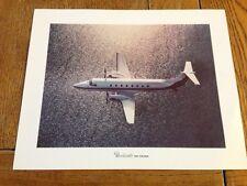 Vintage Beechcraft 1900 Print/Lithograph