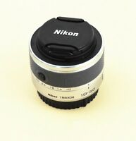 Silvery Nikon 1 NIKKOR 10-30mm f/3.5-5.6 VR Lens for V1 V2 V3 S1 S2 J1 J2 J3 J4