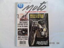 MOTO LEGENDE N°1 10-11/1990 RICKMAN METISSE 750 KAWASAKI H2 JOHN SURTEES  I15