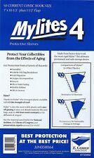 50 - E. GERBER MYLITES 4 CURRENT / MODERN 4-Mil Mylar Comic Bags Sleeves 700M4