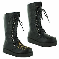 Unbranded Mid-Calf Lace Up Boots for Women