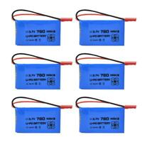 ENGPOW 3.7V 780mAh 25C JST Plug Rechargeable LiPo Battery for RC Car/Boat