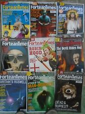 Fortean Times magazines. 9 issues