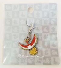 Japanese Pokémon Center Limited Metal Charm! *Ho-Oh*!