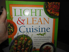 Like New! Light and Lean Cuisine by Anne Sheasby 1998 Hardcover!