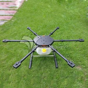 FPV Hexacopter 6 Axis Carbon Fiber Plant Protection Drone 1600mm f/ Agricultural