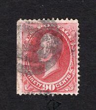 USA 1872 stamp Scott#155 carmine perf 12 CV=350$