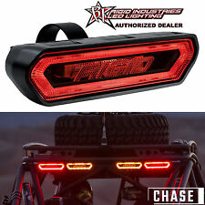 Rigid 90133 Chase LED Red Light Universal Rear Facing 3-Function w/ Tube Mount
