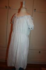 Monnalisa Chic Kleid romantisch weiß ❤️ MONNALISA   ❤️ Gr: 128 / 8