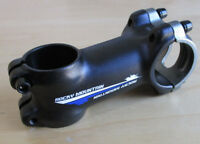 """New Rocky Mountain Bicycle Stem 75mm Reversible 31.8mm Bar 1 1//8/"""" Tube Black"""