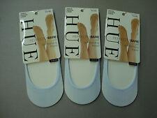 NWT Women's Hue Sheer Hidden Liner 3 Pair Size M/L Ice Castle #14H