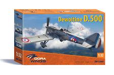 Dora Wings 1/32 Dewoitine D.500 plastic kit