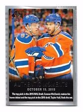 2015-16 SP Authentic Connor McDavid/Taylor Hall