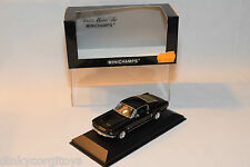 . MINICHAMPS FORD MUSTANG 1968 BLACK MINT BOXED