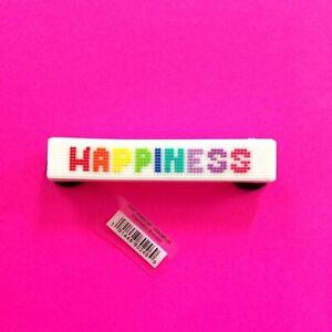 😍 CROCS BRAND JIBBITZ HAPPINESS FRIENDSHIP BRACELET SHOE CHARM! AUTHENTIC! NWT!