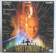 STAR TREK FIRST CONTACT LASERDISC