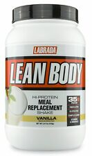 Labrada Nutrition Lean Body Hi-Protein Meal Replacement Shake Vanilla 2.47-Po...