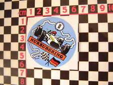 Nurburgring Sticker - German Classic Car Circuit Racer Decal