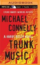 Trunk Music by Michael Connelly MP3 CD Free 1st Class Shipping