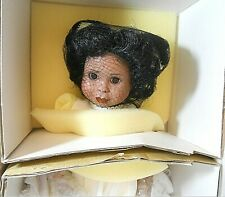 "Paradise Galleries Treasury Collection Nicole Porcelain Doll 13"" #478L African"