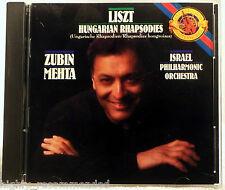 Liszt: Hungarian Rhapsodies 1-6 (CD, Sep-1989, Sony Classical)