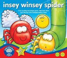 Orchard Toys Educational Games - Insey Winsey Spider - Brand New