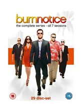 Burn Notice - Complete Season 1-7 [New DVD]