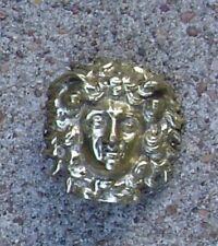 God of Roman Officers brass head of Nemesis Medusa for armor helmet decoration