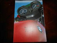 NOS BMW OEM 1981 R100 R80 RT RS LS ST G/S R65 Brochure Poster
