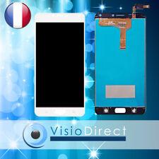 Ecran pour Asus Zenfone 4 Max Plus ZC554KL X00ID X001D blanc vitre tactile+LCD