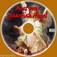 GUIDED MEDITATION CONNECT TO YOUR GUARDIAN ANGEL AUDIO CD PEACE & HEALING NEW